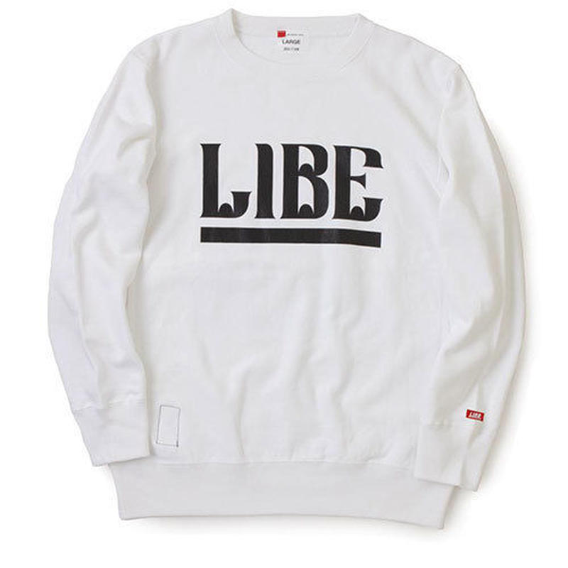 【LIBE BRAND UNIVS.】QP BIG LOGO SWEAT