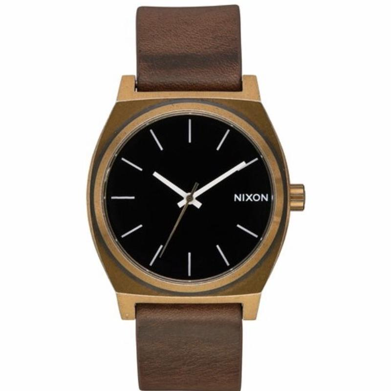 【NIXON】THE TIME TELLER/BRASS/BLACK/BROWN