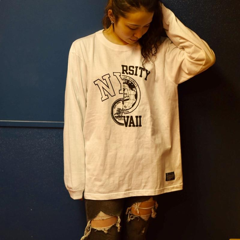 【SKREWZONE】NY + HAWAII LONG TEE