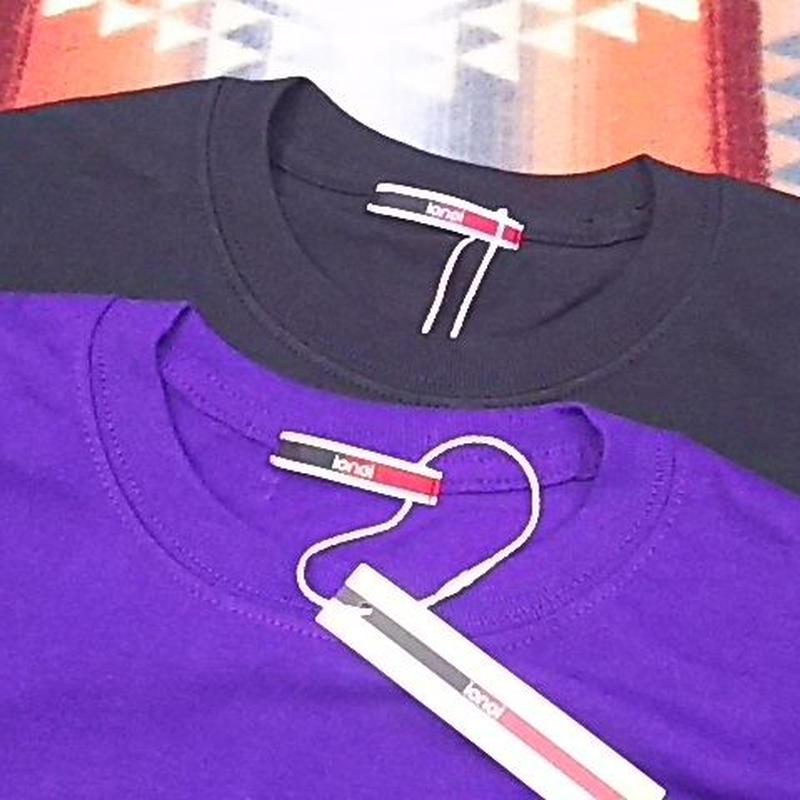 【SALE】 ionoi 『LEPAKOT L/S TEE black&purple』