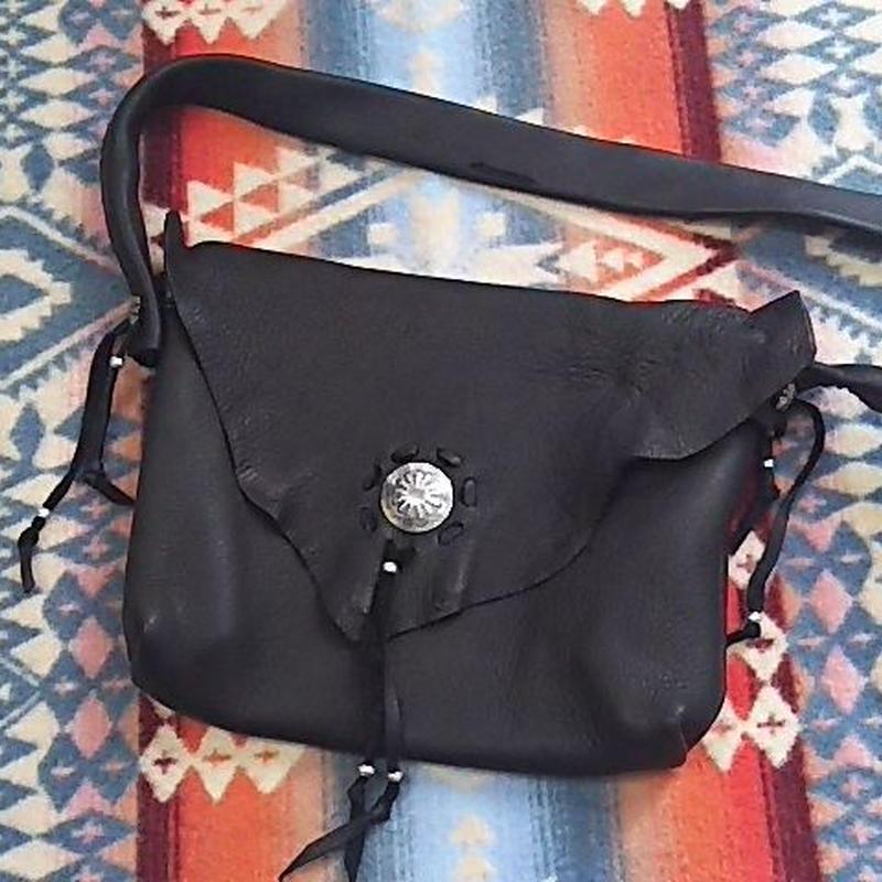 EARLY MORNING 『SHOULDER BAG (DEER) Sサイズ black』