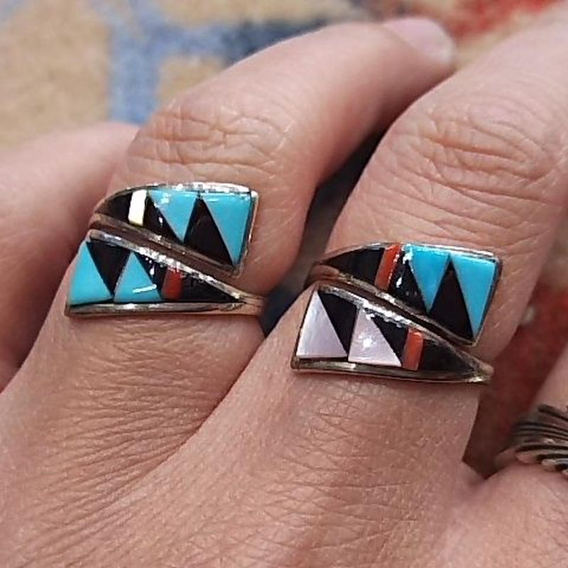 ZUNI 『INLAY RING (C)』