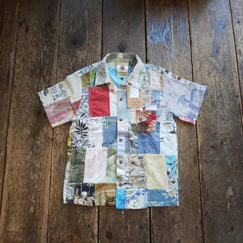(再入荷) Nasngwam. 『RE:ALOHA S/S SHIRTS (Sサイズ)』