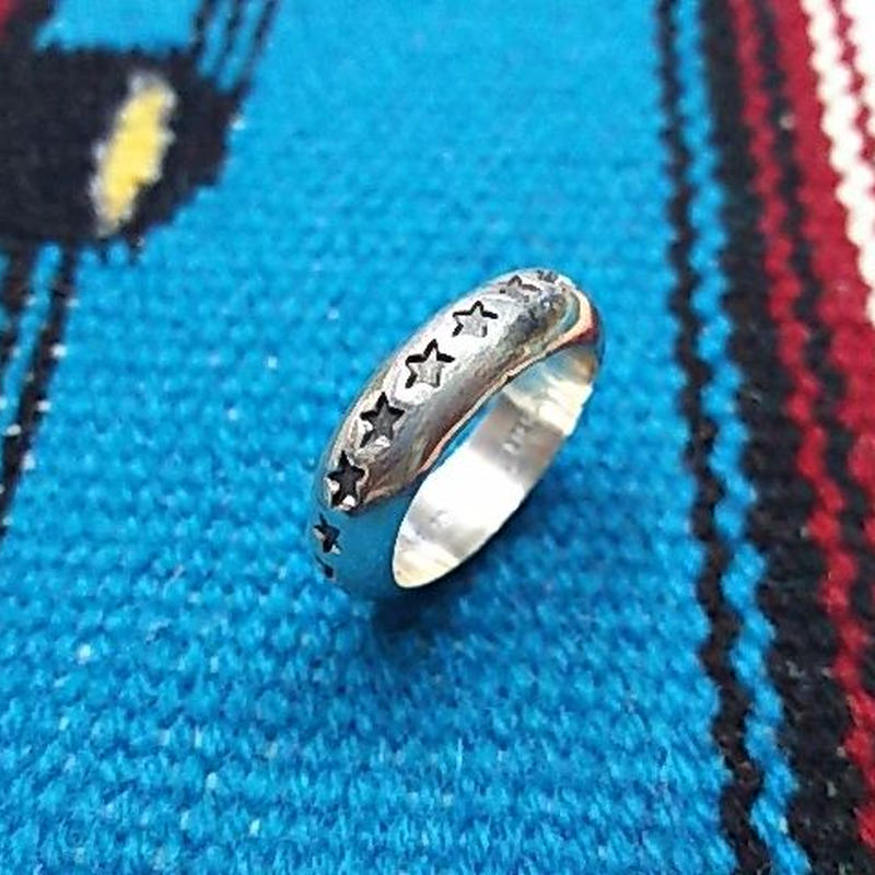 NAVAJO 『ROUND STAR RING (Sunshine Reeves) 23号』