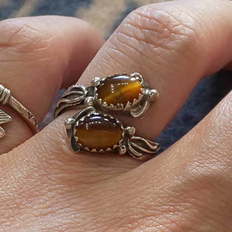 NAVAJO 『TIGER EYE RING 13号』