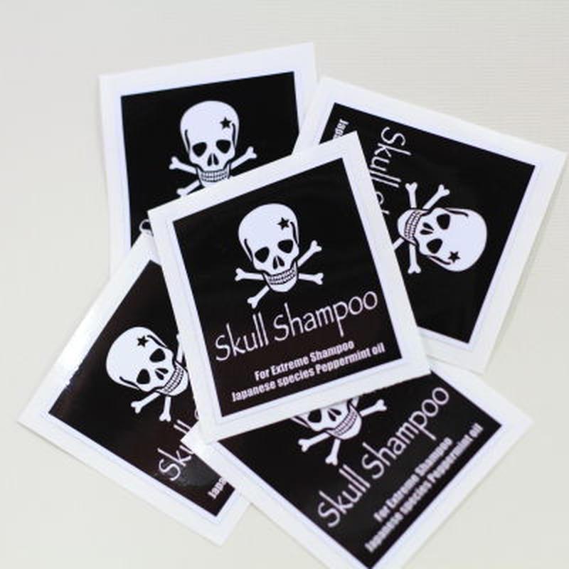 スカルシャンプー/Skullshampoo ステッカー 1枚