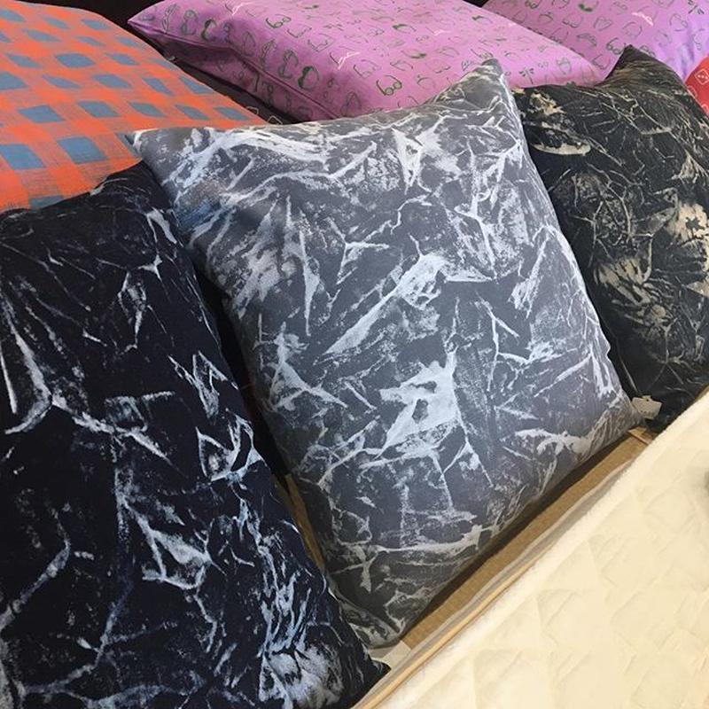 FUKUYAMA denim cushion Size 45×45