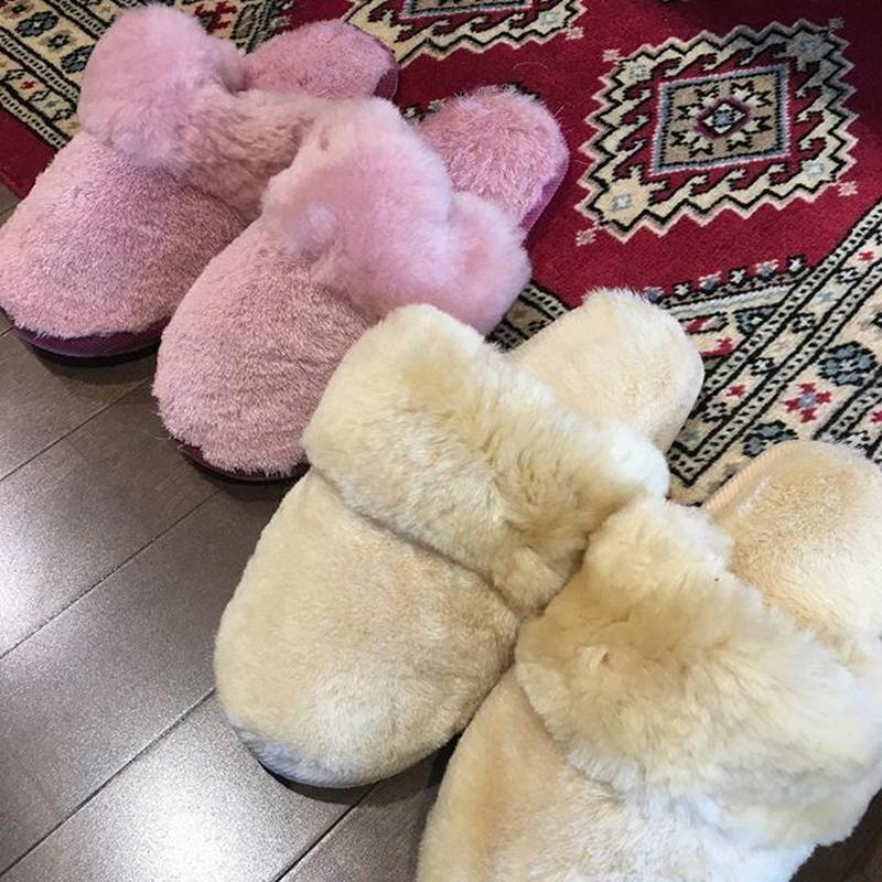 Wool muton slippers Size Free