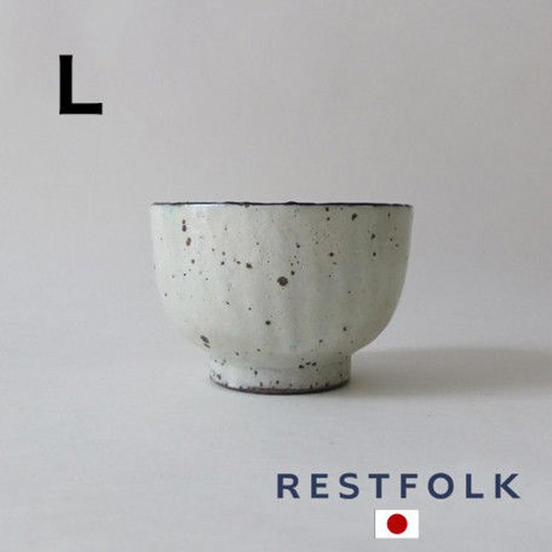 RESTFOLK セラミック リム ボウル(L)Made in Japan