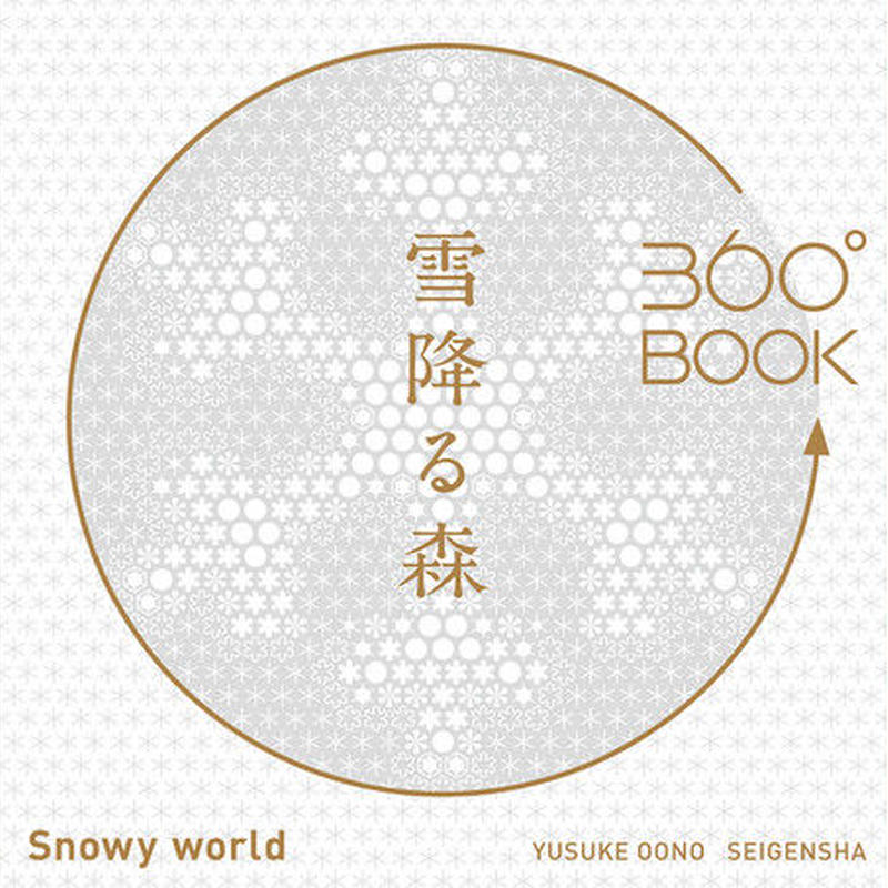 「360°BOOK」 雪降る森 大野 友資 送料185円
