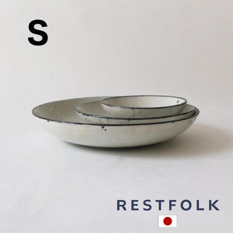 RESTFOLK セラミック リム ディーププレート(S)Made in Japan