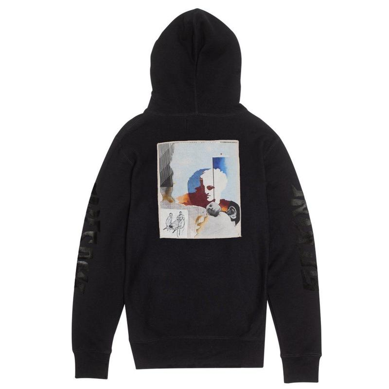 Fucking Awesome Nautical Rome French Terry Hoodie - Black