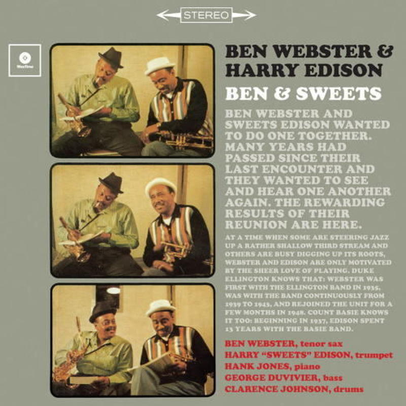 Ben Webster, Harry Edison / Ben & Sweets (LP)180g