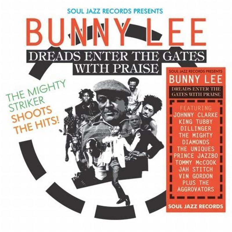 BUNNY LEE / DREADS ENTER THE GATES WITH PRAISE : THE MIGHTY STRIKER SHOOTS THE HITS! (3LP)DLコード付