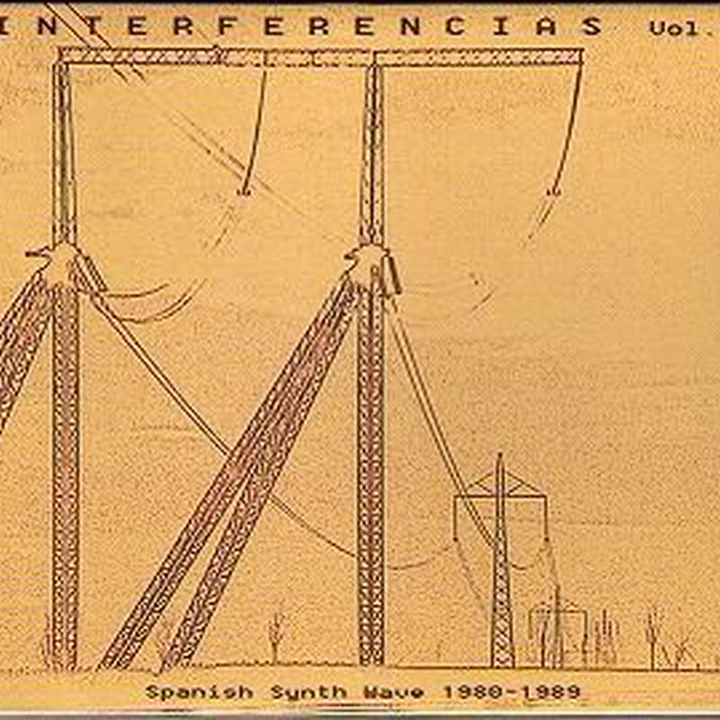 V.A. (CULT & MINOR NEW WAVE) INTERFERENCIAS VOL. 1: SPANISH SYNTH WAVE 1980-1989 (LP)