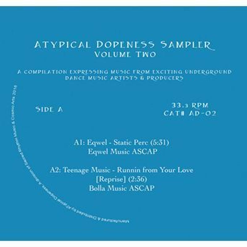 V.A / ATYPICAL DOPENESS SAMPLER VOLUME TWO (12inch)