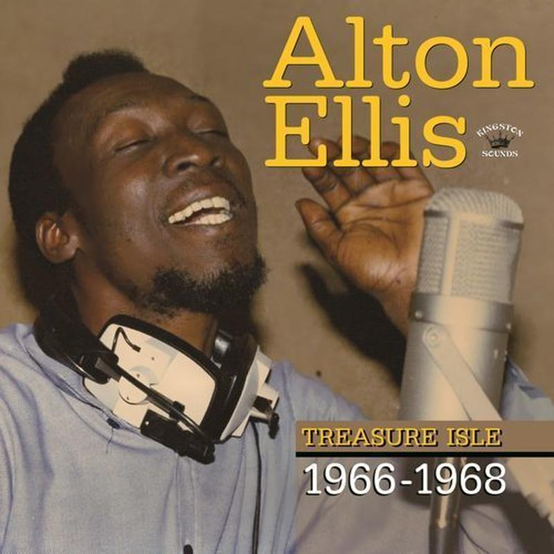 ALTON ELLIS / TREASURE ISLE 1966-1968 (LP)