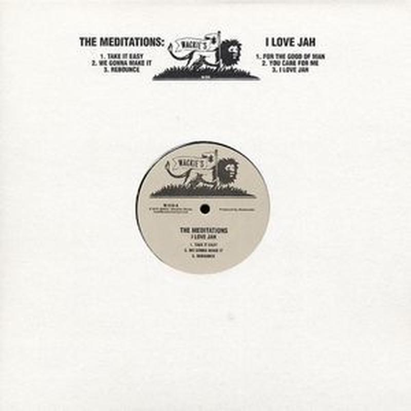 MEDITATIONS / I LOVE JAH (LP)