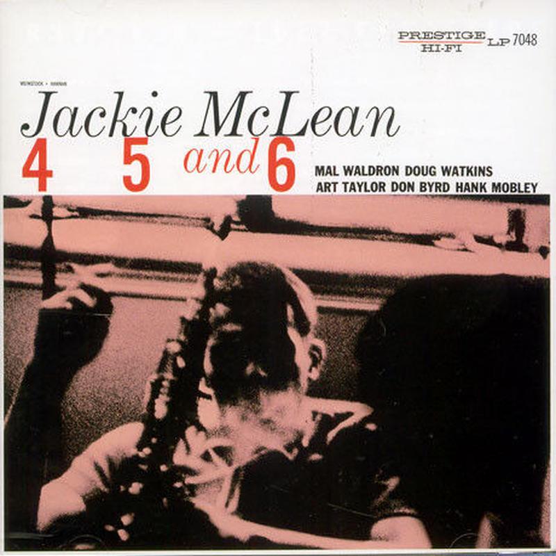 Jackie McLean / 4, 5 And 6 (LP)