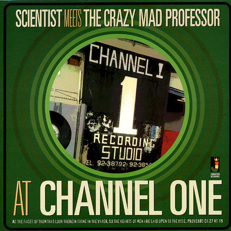 SCIENTIST / SCIENTIST MEETS THE CRAZY MAD PROFESSOR(LP)