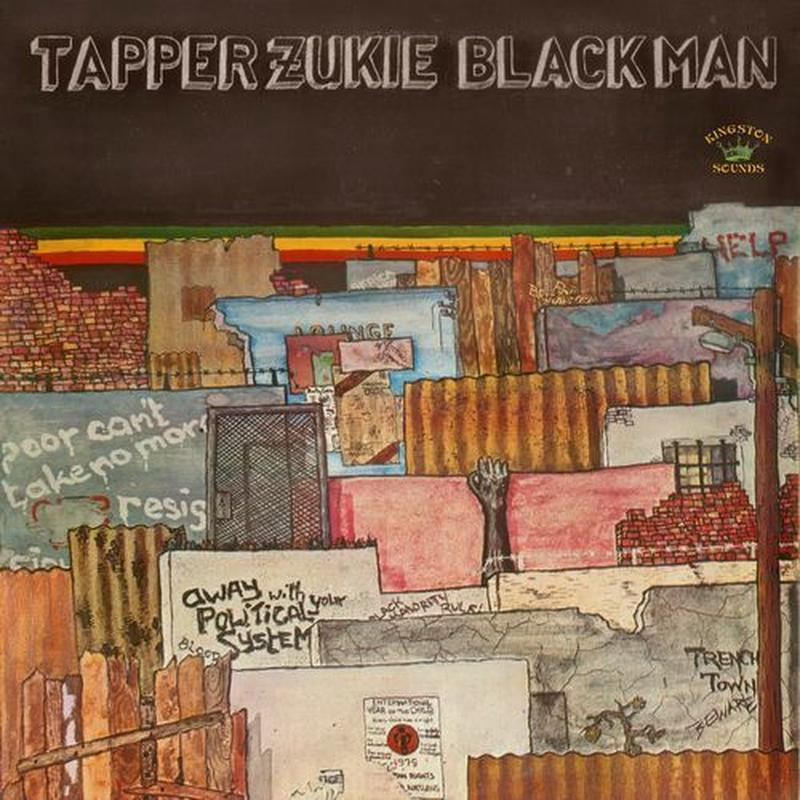 TAPPER ZUKIE  / BLACK MAN (LP)