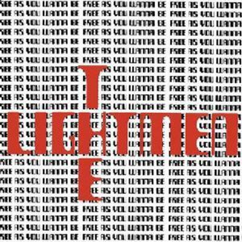 LIGHTMEN PLUS ONE /  FREE AS YOU WANNA BE (2LP)DLコード付