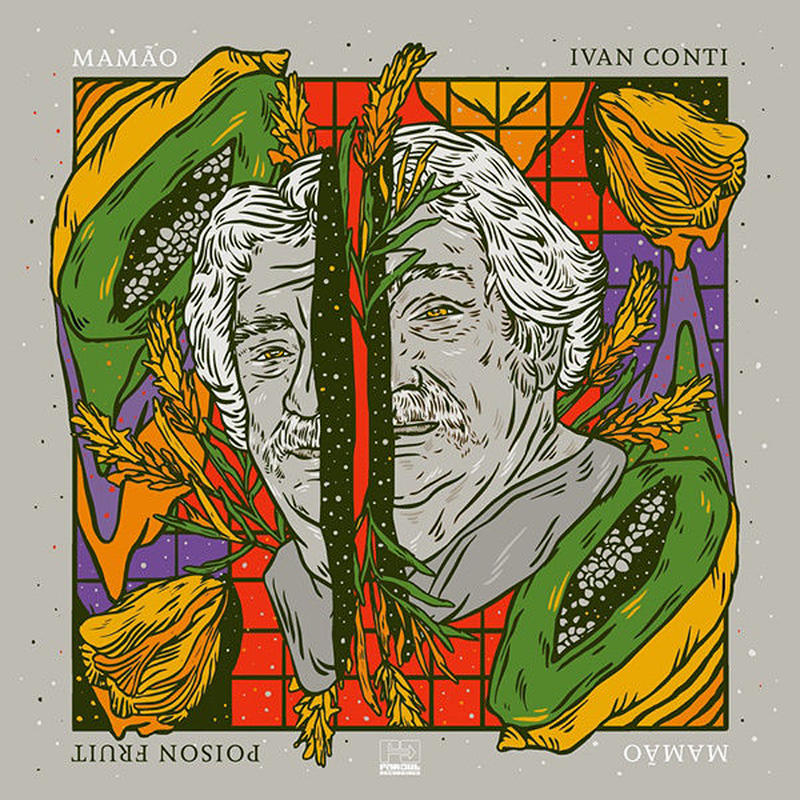 IVAN CONTI / POISON FRUIT (LP) DLコード付