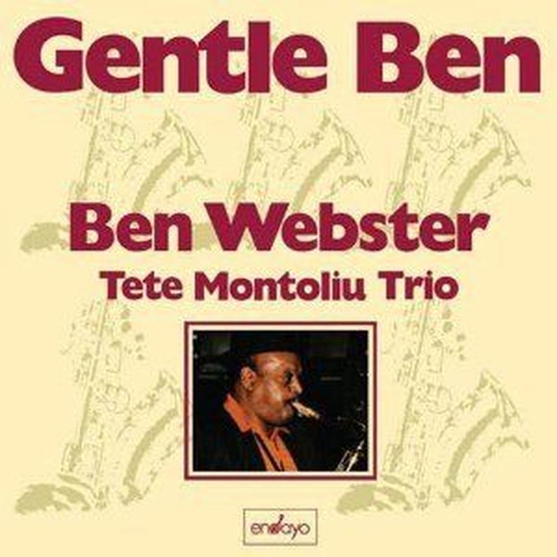 BEN WEBSTER (Tete Montoliu Trio) /  Gentle Ben (LP)