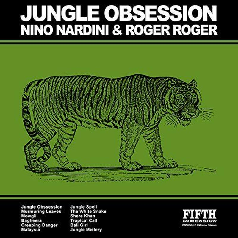 NINO NARDINI & ROGER ROGER / JUNGLE OBSESSION (CD)