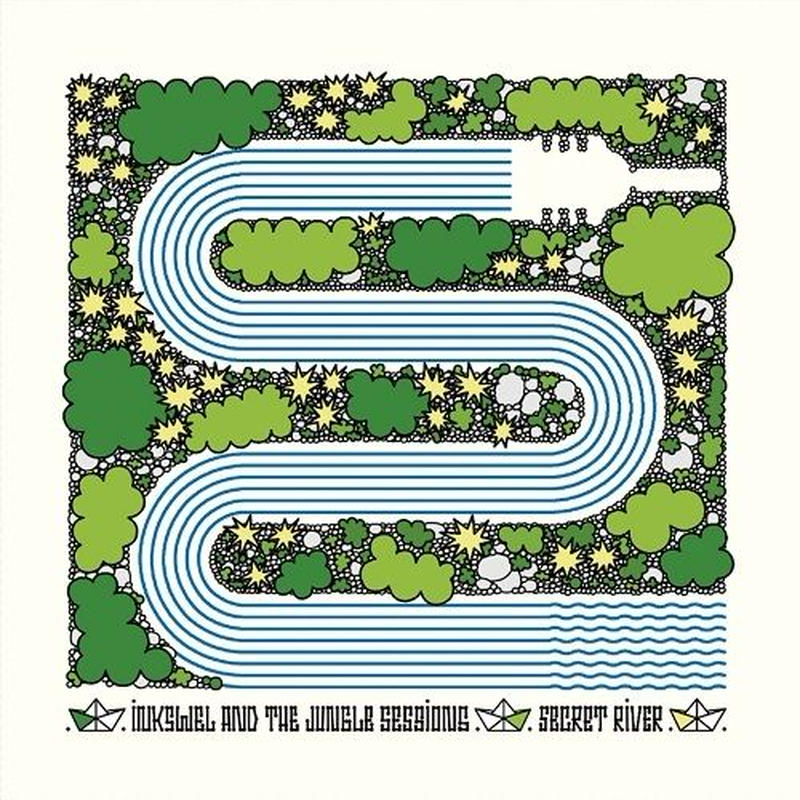 INKSWEL & THE JUNGLE SESSIONS / SECRET RIVER(12inch)