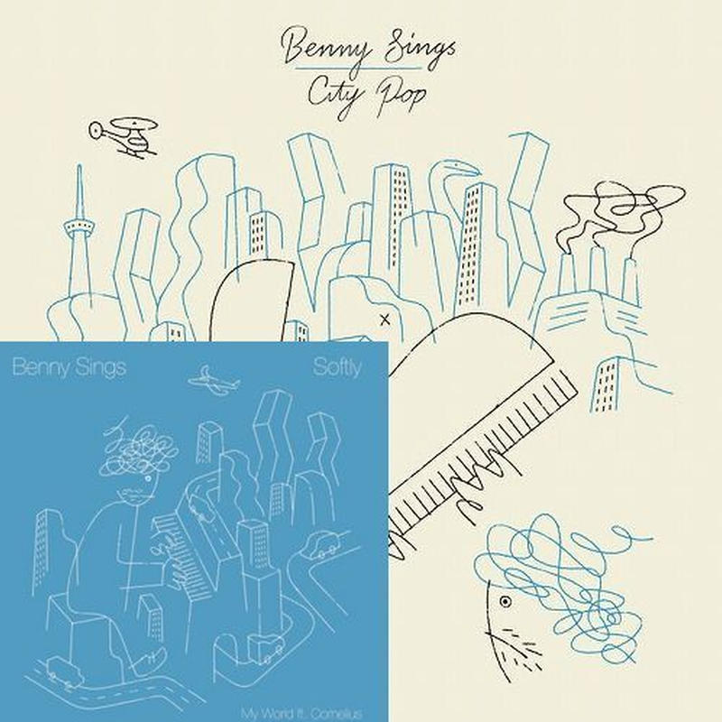 BENNY SINGS  / CITY POP (LP+7inch)
