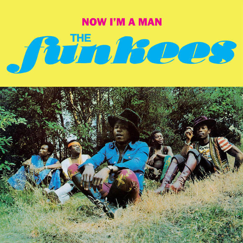 THE FUNKEES / NOW I'M A MAN  (CD)