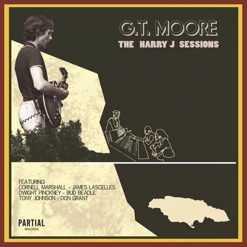 G.T. MOORE / THE HARRY J SESSIONS (LP)