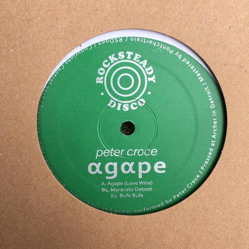 PETER CROCE / AGAPE (12inch)
