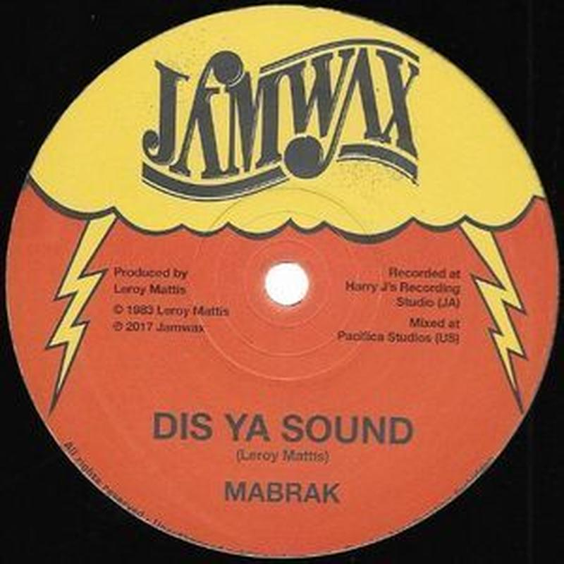 MABRAK / DIS YA SOUND (12inch)