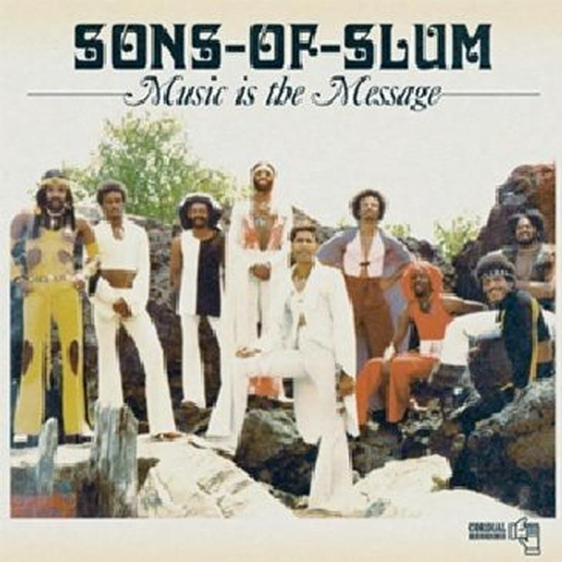 SONS OF SLUM / MUSIC IS THE MESSAGE (LP)