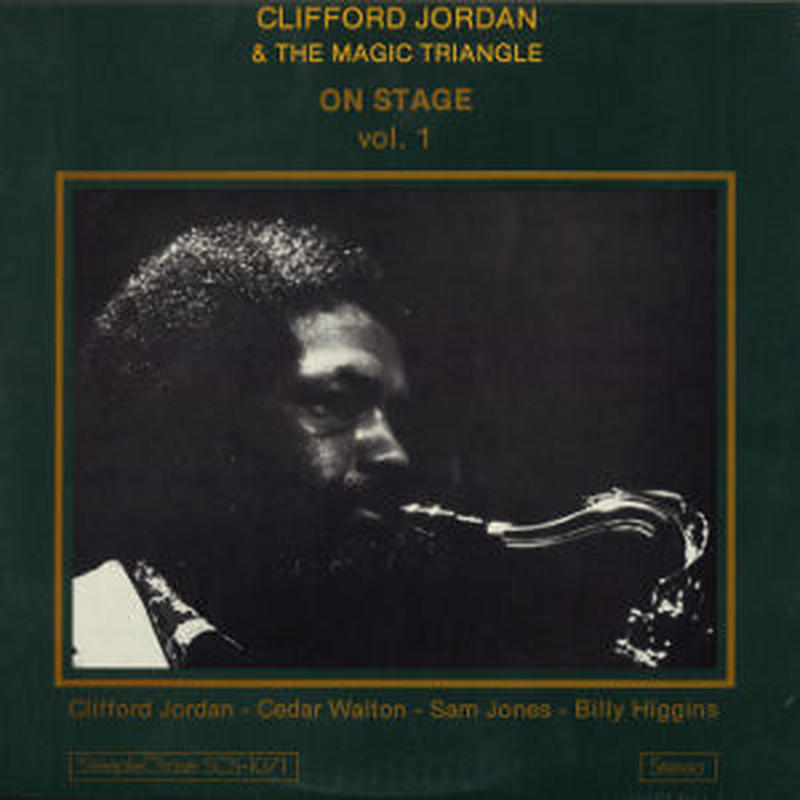 CLIFFORD JORDAN / On Stage Vol.1 (LP)
