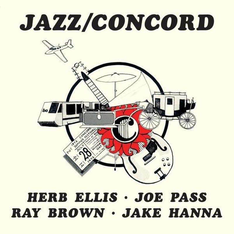 Herb Ellis, Joe Pass, Ray Brown, Jake Hanna / Jazz Concord (LP)180g