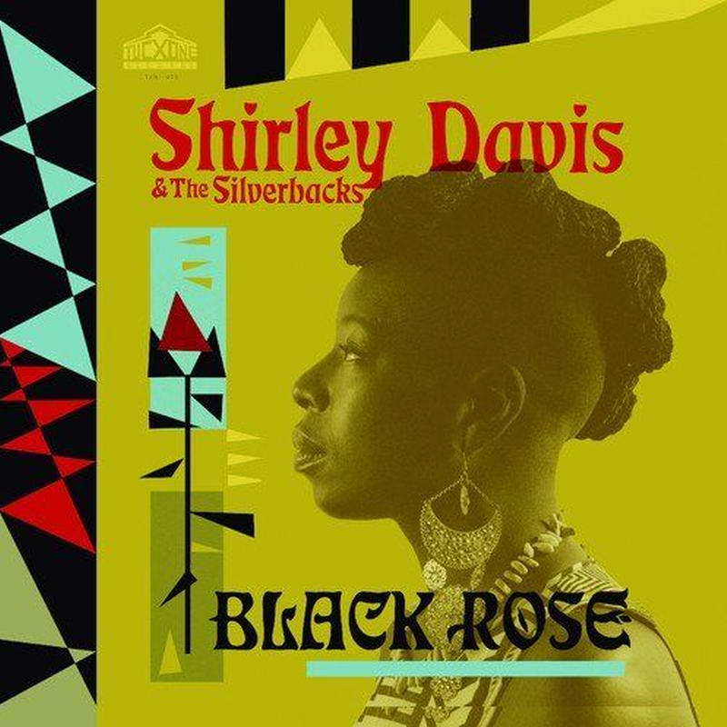 SHIRLEY DAVIS & THE SILVERBACKS / BLACK ROSE (CD)