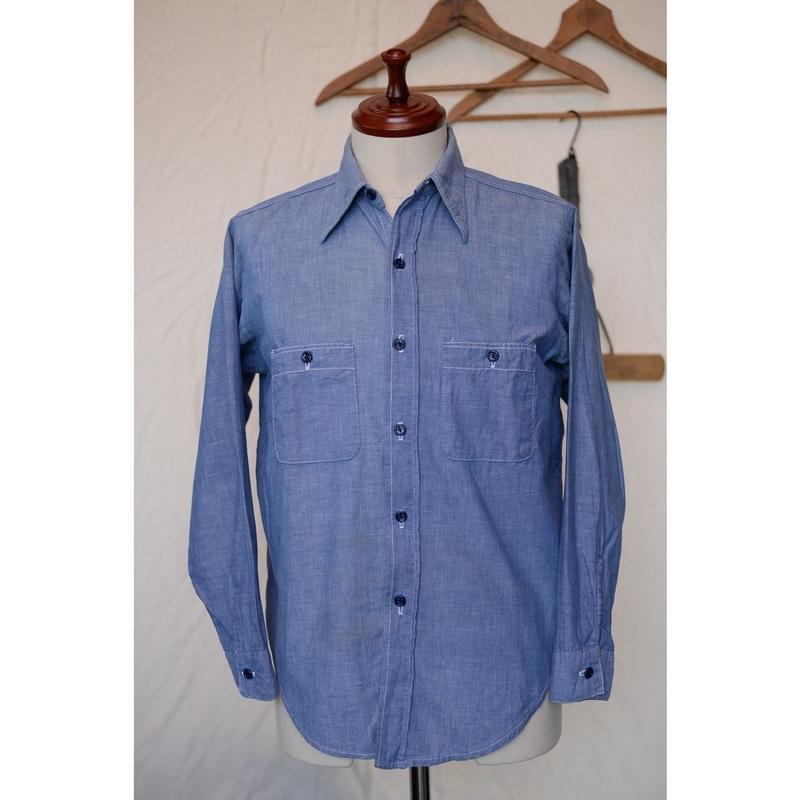 COAST WIDE 60-70'S シャンブレーシャツ