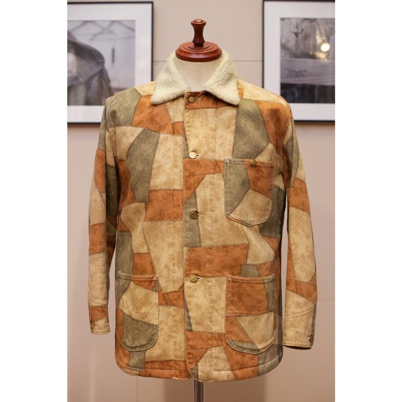 """LEE """"Outerwear"""" 70'S パッチワークプリントボアジャケット"""