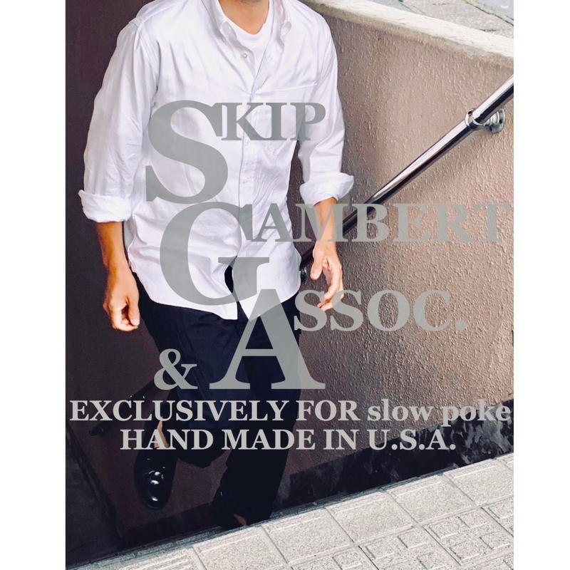 "SKIP GAMBERT & ASSOC ""Exclusive for slowpoke"" B.D. SHIRTS"
