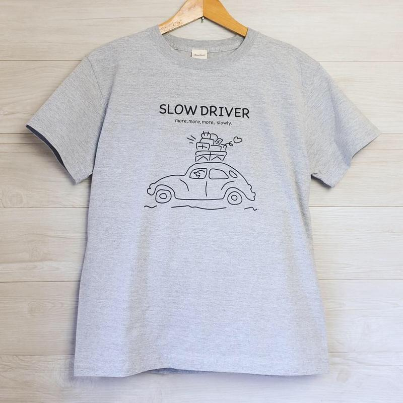 SLOW DRIVER Tシャツ