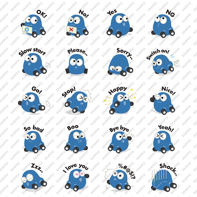 My Bug #Deep blue