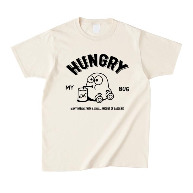 HUNGRY Tシャツ(ナチュラル)