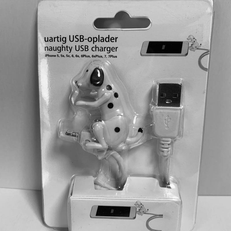 腰ふり犬iPhone充電用ケーブル