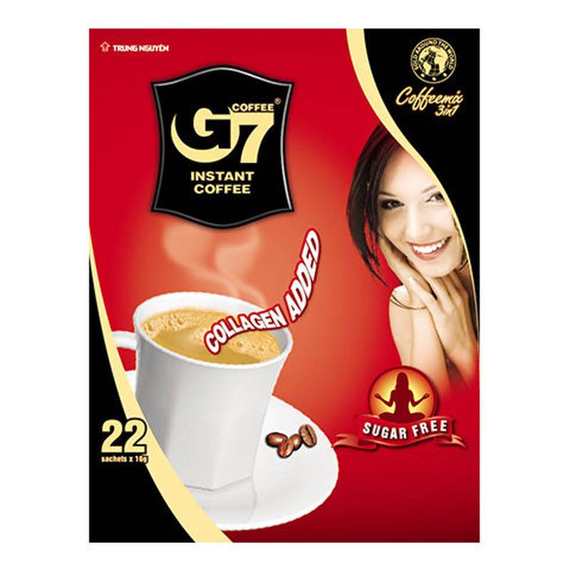 G7 Collagen & Sugar Free(Bag 22 sachets)