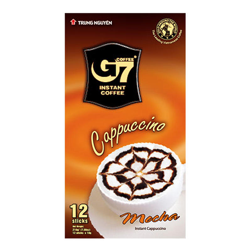 G7 Cappuccino Mocha(Box 12 sticks)