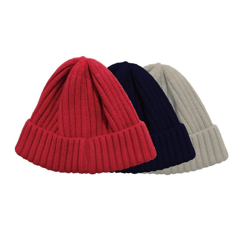 ウールのニット帽