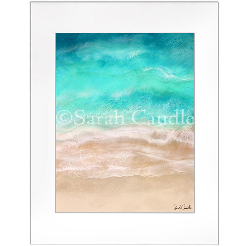 Sarah Caudleアート】Sea side(Sサイズ)
